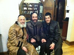 Rabbi Michel, Rabbi Benzion, and Rabbi Chaim